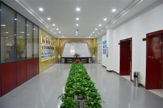 星达医疗2号楼2楼公司荣誉墙